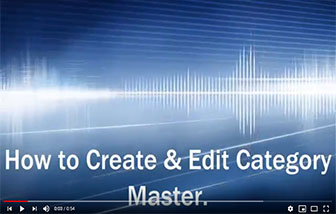 How to Create & Edit Category Master